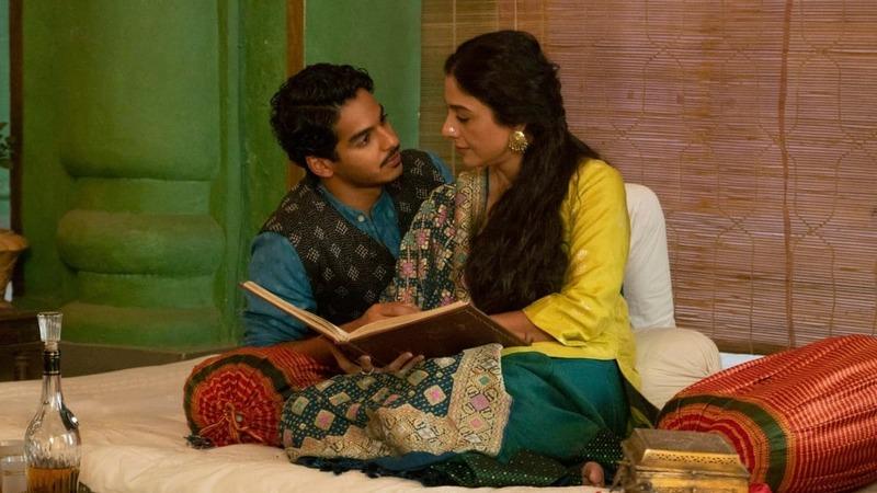 Ishaan Khattar and Tabu in A Suitable Boy