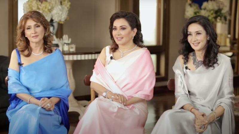 From L-R: Mina Hassan, Hina Durrani and Nazia Ejaz Khan
