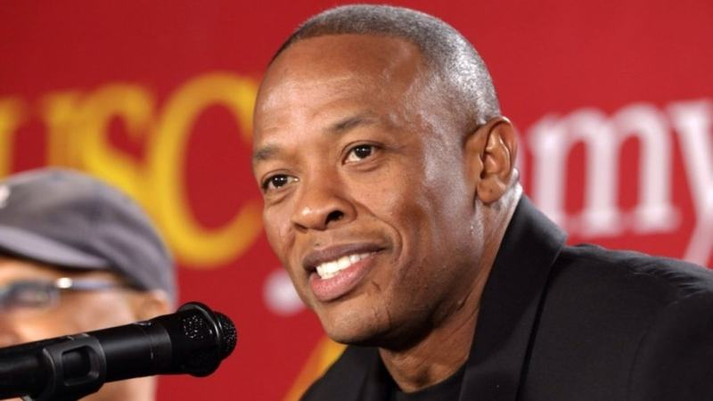 TMZ said doctors were carrying out tests on the 55-year-old music mogul, who was stable and lucid.