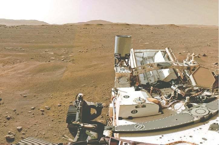 Nasa releases Mars landing video, calls it 'stuff of dreams' - DAWN.com
