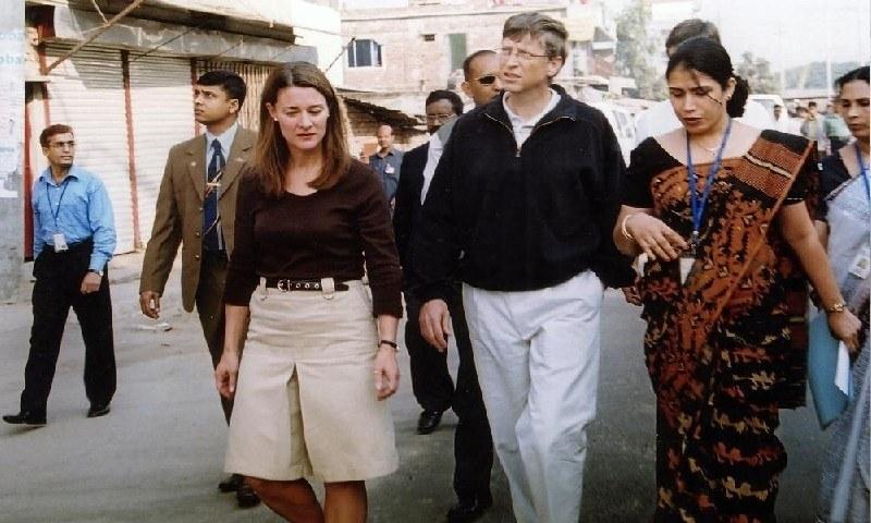 دونوں کی شادی 1994 کو ہوئی تھی — اے پی فوٹو