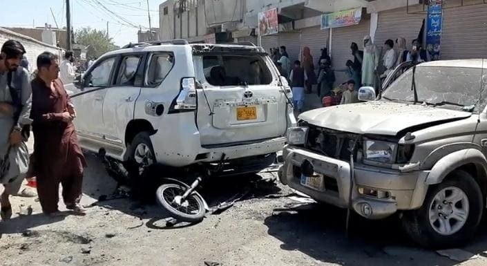 At least six people were killed and others were injured blast  Chaman Friday afternoon, Balochistan