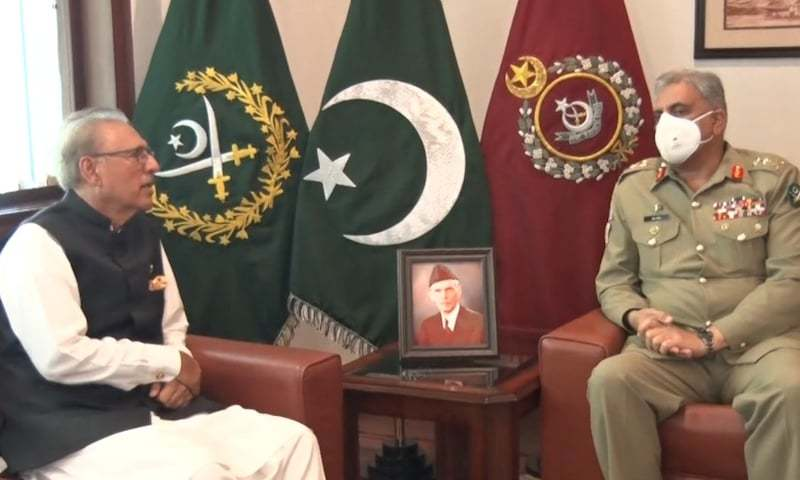 President lauds army's unparalleled contribution to Pakistan's security