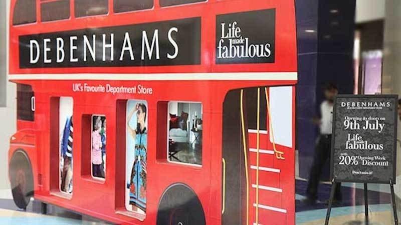 British department store Debenhams opened at Karachi's Dolmen City Mall in July 2012. – Photo courtesy Creative Commons