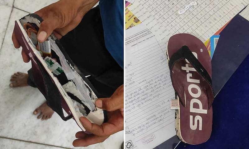 Indian exam cheats caught with Bluetooth slippers