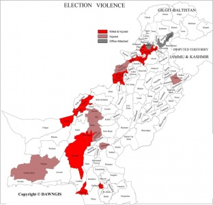 Election violence: 74 killed and counting