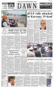 Taliban say their target was Munir Orakzai: JUI-F rally attacked in Kurram; 19 dead