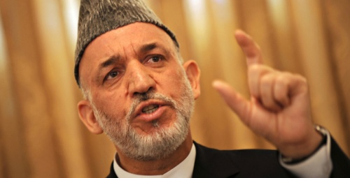 Karzai on the warpath