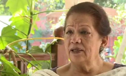 I would want you to know who Zahra Shahid was