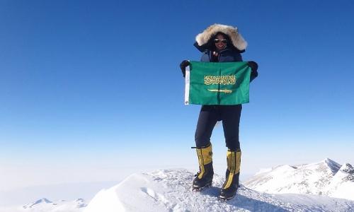 Saudi woman conqueror of Everest seeks to inspire