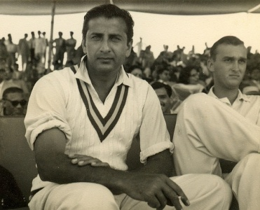 Fazal at Karachi's National Stadium, 1959.