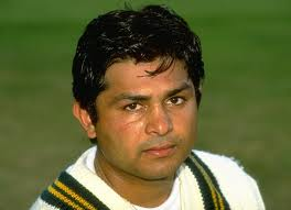 Mushtaq Ahmed in 1999.