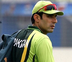 Misbah, both in faith and game: Quiet, calm, private.