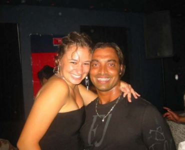Shoaib Akhtar at a nightclub in the UK, 2005: 'Beyond repair?'