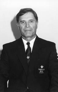 Javed Burki in 2001.