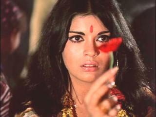 Zeenat Aman.