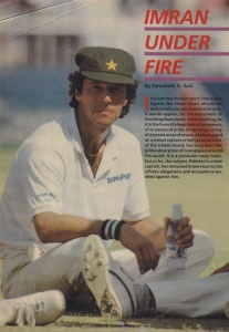 Another accusation that Khan faced during his captaincy was of being arrogant. This 1990 article by famous cricket journalist, Fareshte A. Gati, explores the issue.