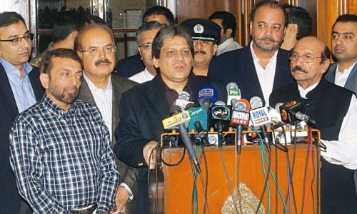 PPP, MQM to decide Sindh coalition on Sunday
