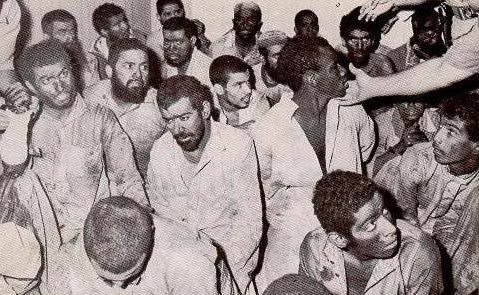 The militants who got captured. They included Saudis, Jordanians, Libyans, Eygyptians and Pakistanis. The non-Saudi militants were either based in Saudi Arabia as workers or were students at various Saudi universities. They were all beheaded.