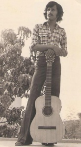 One of Pakistan's first pop stars, Alamgir, in Karachi in 1973. His 1977 song, 'Deikha Na Tha' was banned (on PTV and Radio Pakistan) in August 1977 by the Zia regime for being 'obscene.'
