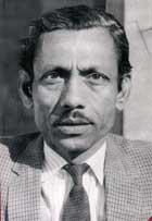 The poet Nasir Kazmi