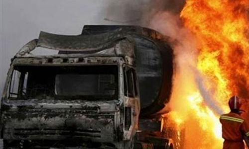 Militants torch oil tanker in Mastung