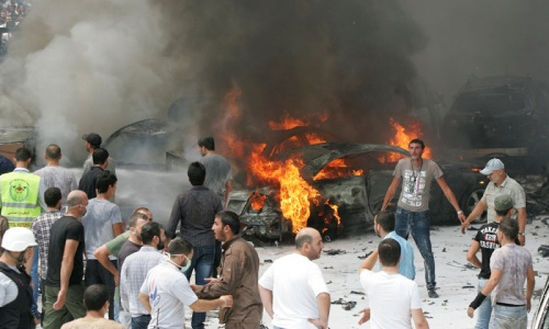 Car bomb wounds 53 in Beirut suburb