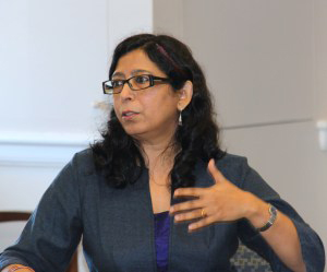 Mehr Afshan Farooqi is Associate Professor of Urdu and South Asian literature at the University of Virginia. She is the  author of *Urdu Literary Culture: Vernacular Modernity in the Writing of Muhammad Hasan Askari*