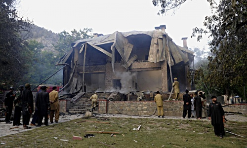 Initial work  to rebuild Quaid Residency begins