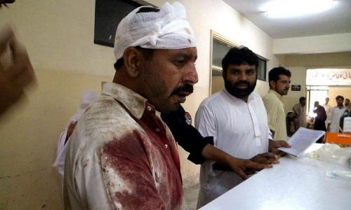 Twin blasts in Parachinar kill 45