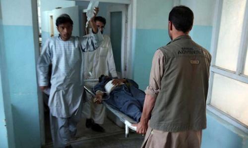 Blast targeting Afghan police commander kills seven