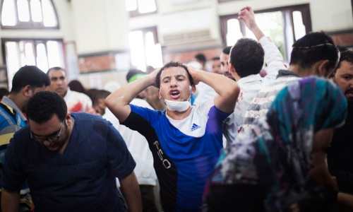 Dozens die as clashes erupt at Morsi rally in Cairo