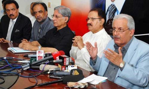 'Aitzaz main proponent of boycott'