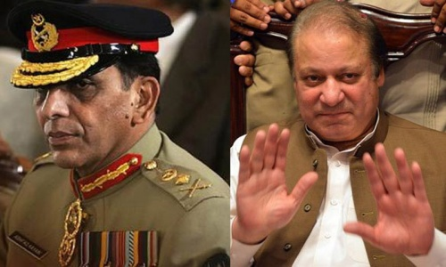 PM, COAS meet ahead of Kerry's visit