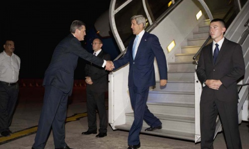 John Kerry to meet Sharif, Zardari and Aziz today