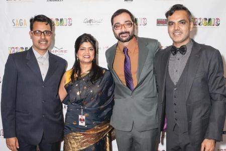 Harune Massey, Aanya Mckenzie, Mazhar Zaidi, Arshad Khan. — Courtesy Photo
