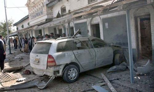 Blast near railway station in Chaman kills two, injures 15