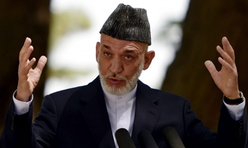Karzai calls for head-to-head race in Afghan election