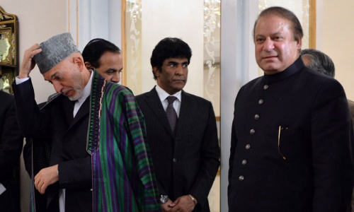Karzai concludes Pakistan visit with invitation to Sharif