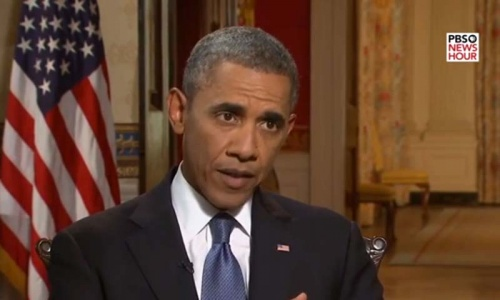 Obama not ready to order Syria strike but gives up on UN