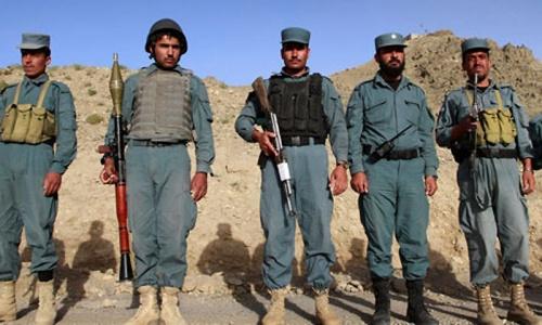 Militants kill 15 policemen in western Afghanistan