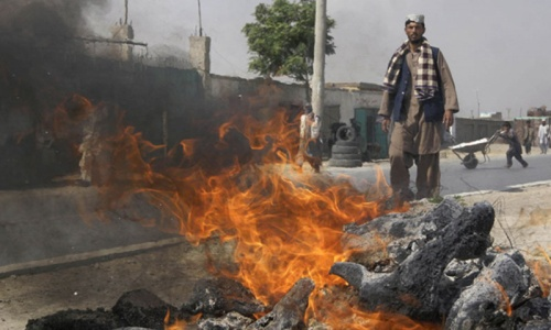 Bomb kills eight Afghan mining firm workers