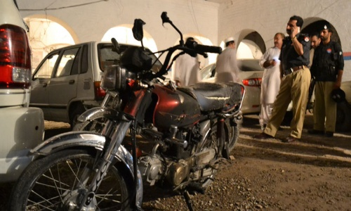 Blast at Peshawar police station injures five: official