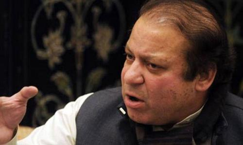 Nawaz reviews strategy for peace in Karachi