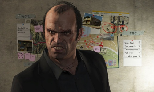 'Grand Theft Auto V' hits streets in brash debut