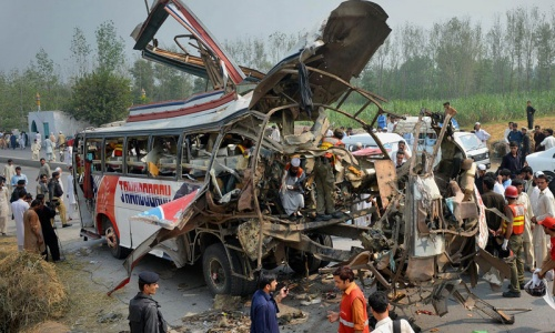 At least 19 govt employees killed in Peshawar explosion