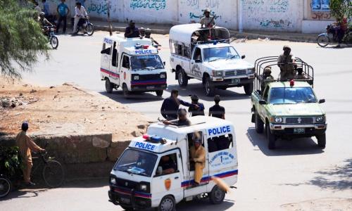 Crackdown brings apparent lull in Karachi violence