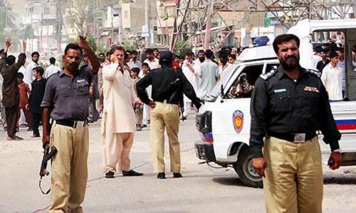 Hindu grave dug up near Karachi