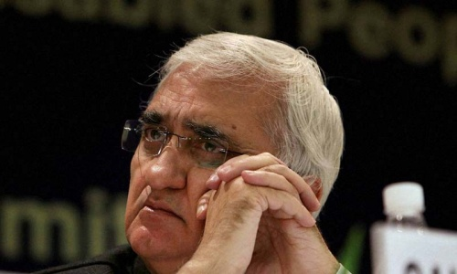 India must show patience: Khurshid