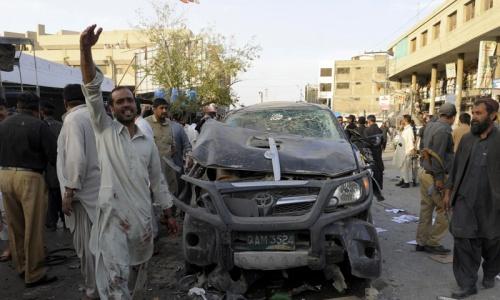 Bomb blasts kill 10 in all four provinces